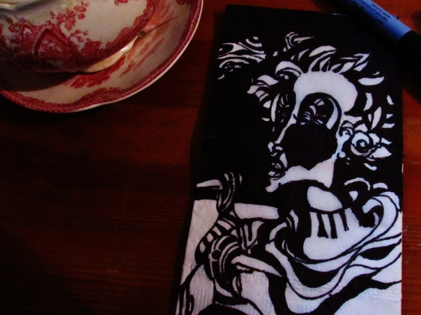 Classical Tea with an Abstract Lady