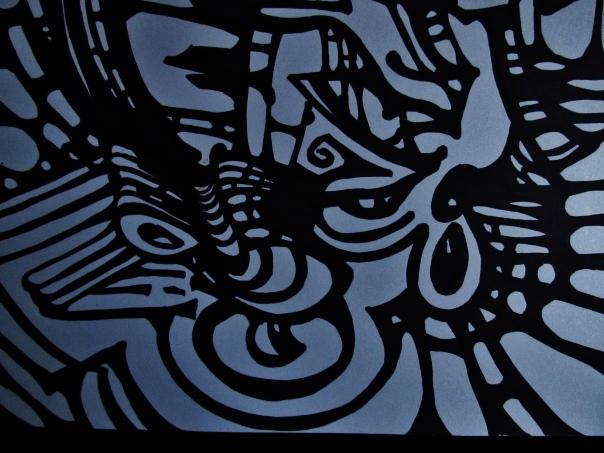 Rorschach Ink Doodle