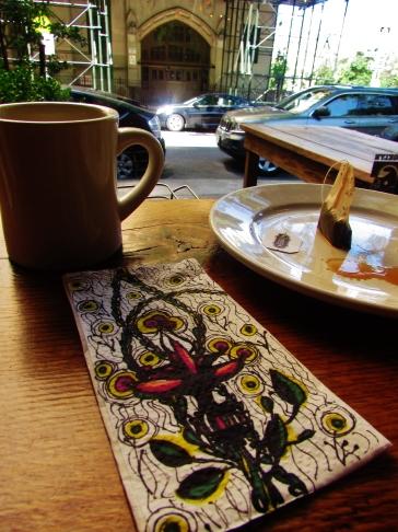 At Camerari's Cafe