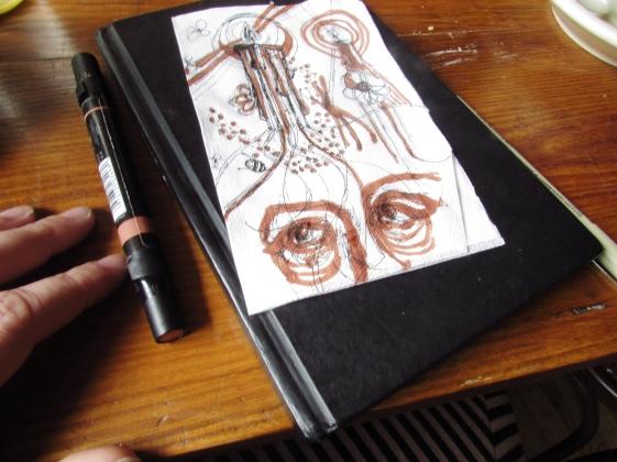Drawn at Cammerari's Cafe