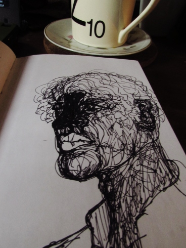 Scribbled Portrait
