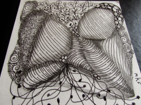 Zentangle Doodles 004