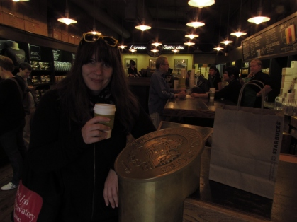 First Starbucks in Pike's Place Market; Seattle, WA
