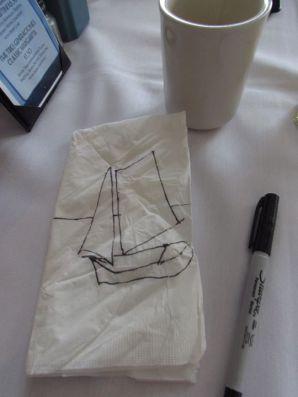 Syracuse Sailboat Doodle