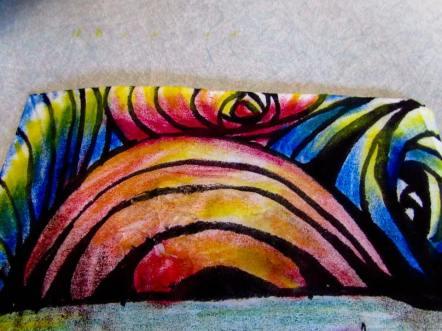 Oil Pastel Rainbow